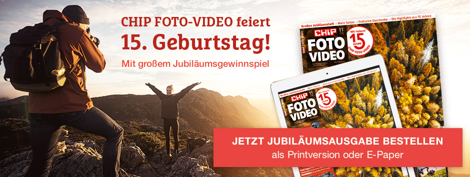 CHIP FOTO-VIDEO 11/18 - Jubileums Ausgabe