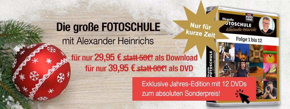 CHIP FOTO-VIDEO - Weihnachtsangebot Fotoschule