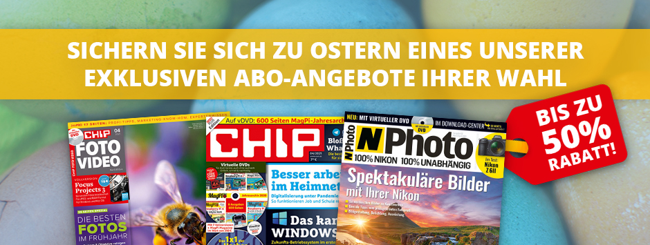 CHIP - Oster-Angebote 2021