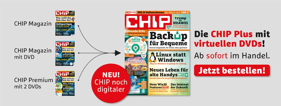 CHIP PLUS - NEU noch digitaler!