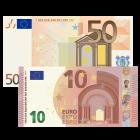 60 € Verrechnungsscheck