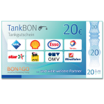 20 Euro TankBON