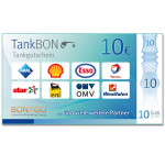 10 Euro TankBON