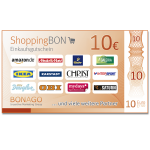 10 Euro ShoppingBON