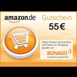 55€ Amazon.de Gutschein