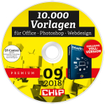 CHIP Themen-DVD 09/18