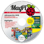 MagPi Heft-DVD 01/19