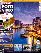 CHIP FOTO-VIDEO mit DVD 08/19
