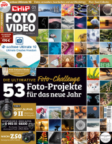 CHIP FOTO-VIDEO mit DVD 01/20