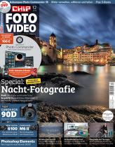 CHIP FOTO-VIDEO mit DVD Miniabo