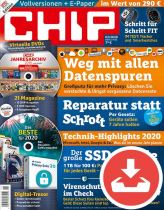 CHIP Magazin 02/20
