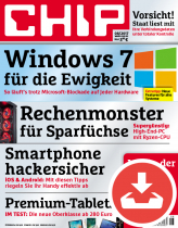 CHIP Magazin 08/17 - Download