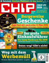 CHIP mit DVD Miniabo