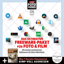 CHIP FOTO-VIDEO Heft-DVD 06/20