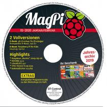 MagPi Heft-DVD 01/20