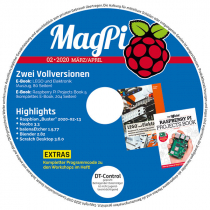 MagPi Heft-DVD 02/20