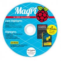 MagPi Heft-DVD 04/20