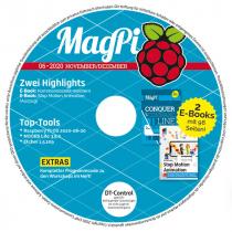 MagPi Heft-DVD 06/20