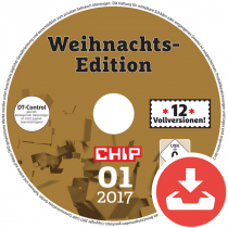 CHIP Heft-DVD 01/17 Download