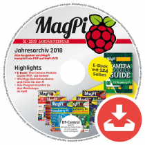 MagPi Heft-DVD 01/19 Download