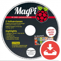 MagPi Heft-DVD 01/20 Download