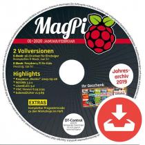 MagPi Heft-DVD 01/20 Download