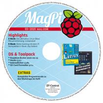 MagPi Heft-DVD 03/20