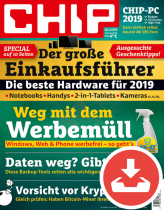 CHIP Magazin 01/19 Download