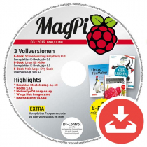 MagPi Heft-DVD 03/19 Download