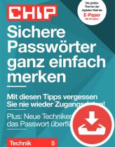 Sichere Passwörter merken