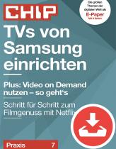 Samsung-TVs einrichten