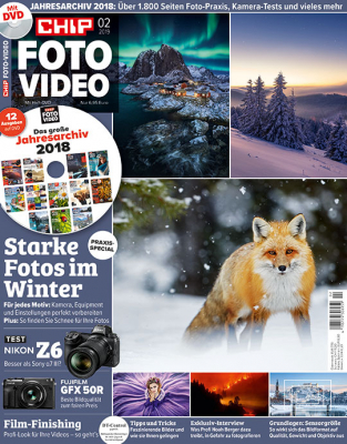 CHIP FOTO-VIDEO mit DVD 02/19