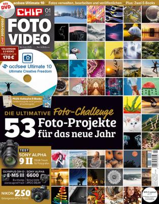 CHIP FOTO-VIDEO mit DVD 01/20