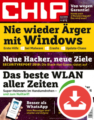 CHIP Magazin 02/19 Download