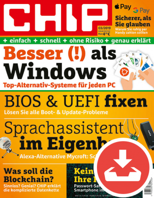 CHIP Magazin 03/19 Download