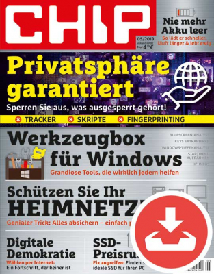 CHIP Magazin 05/19 Download