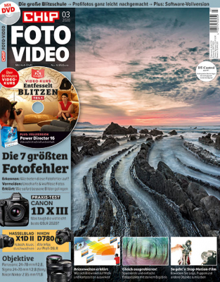 CHIP FOTO-VIDEO mit DVD Studentenabo