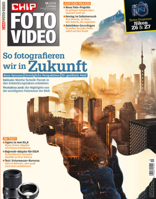 CHIP FOTO-VIDEO Magazin Jahresabo