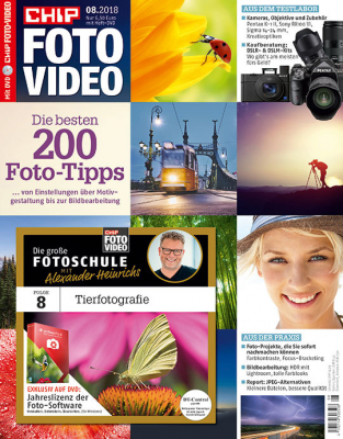 CHIP FOTO-VIDEO mit DVD Miniabo