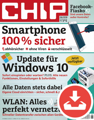 CHIP Magazin 06/18 Download