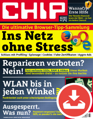 CHIP Magazin 07/17 - Download