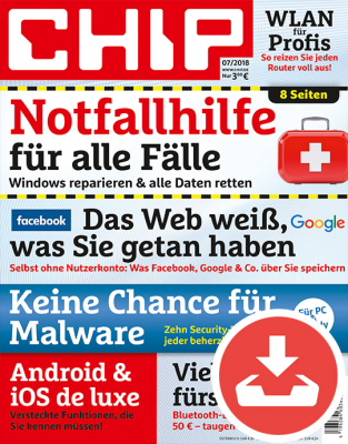 CHIP Magazin 07/18 Download
