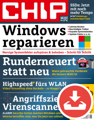 CHIP Magazin 09/17 - Download