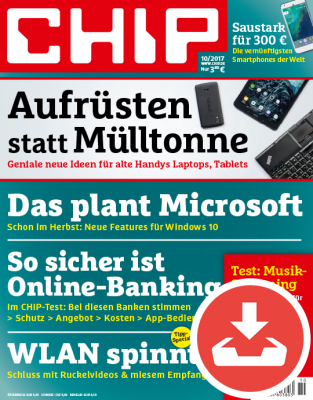 CHIP Magazin 10/17 - Download