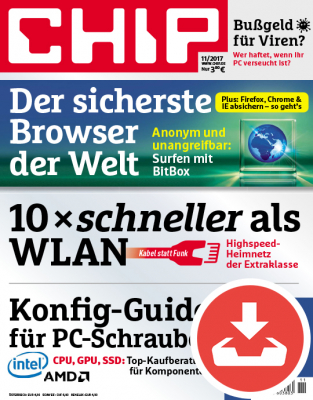 CHIP Magazin 11/17 - Download