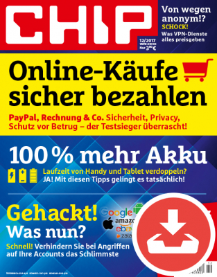CHIP Magazin 12/17 - Download