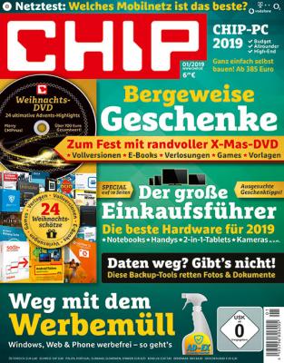 CHIP mit DVD Geschenkabo