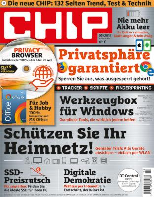 CHIP mit DVD Jahresabo