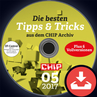 CHIP Heft-DVD 05/17 Download