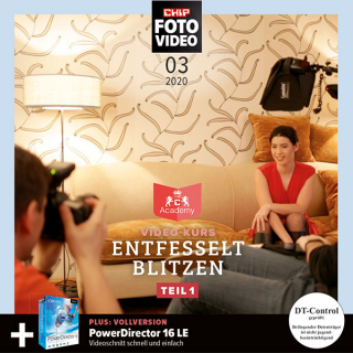 CHIP FOTO-VIDEO Heft-DVD 03/20